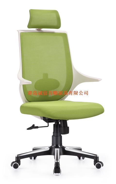 明森达办公椅a878-1 荧光绿色
